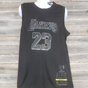 Nike Lebron James MVP Lakers Jersey